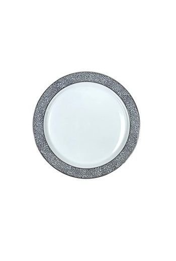 "Wainwright Panthera Platinum Dinner Plate - 10.75 "" diameter"