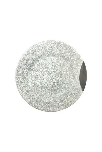 "Wainwright Raku Salad Plate (No Metal) - 9.25"" diameter"