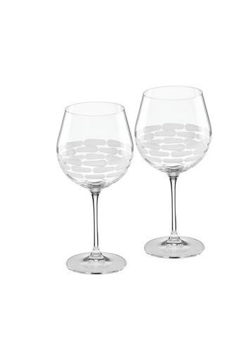 "Wainwright Truro Clear Glass Red Wine, Set of 2 - 8.5"" height  20.5 oz"