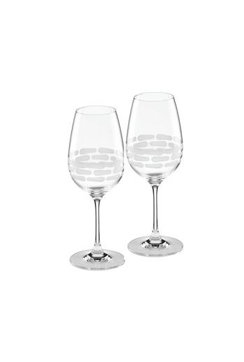 "Wainwright Truro Clear Glass White Wine, Set of 2 - 9"" height  15.25 oz"