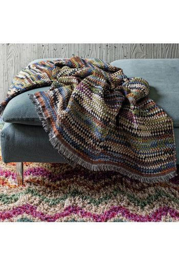 "MISSONI Venere Throw  55"" x 75"" - Available in Multi Color"