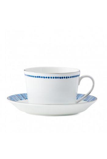 Reed & Barton Malibu Azure Teacup & Saucer