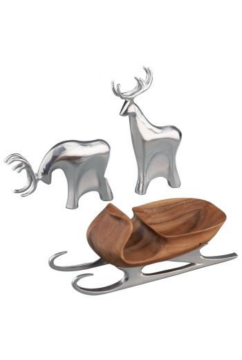 Holiday - Sleigh w/ Reindeer
