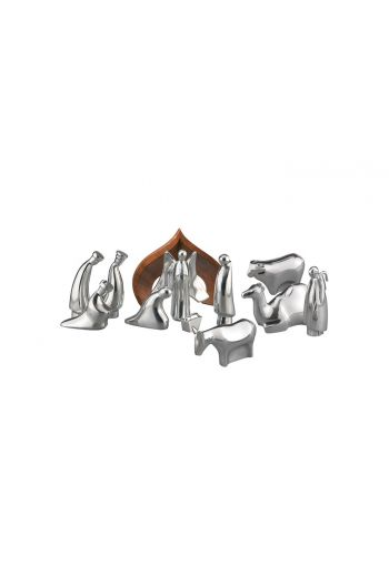 Holiday - Nativity Set w/ Storage Box, 12 pieces