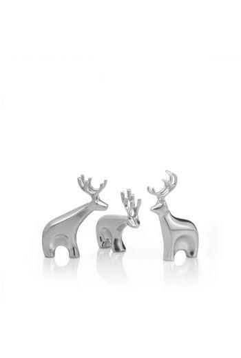 Holiday - Miniature Dasher Reindeer Figurine Set