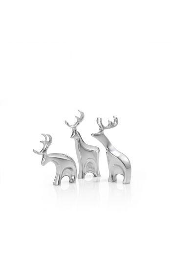 Holiday - Miniature Blitzen Reindeer Figurine Set