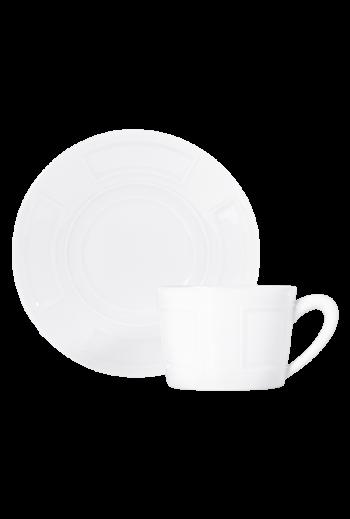 Bernardaud Naxos Tea Cup & Saucer - 5.1 oz