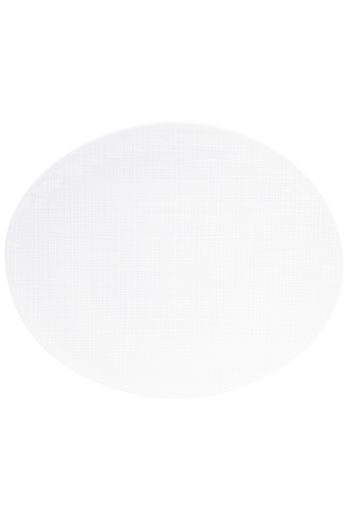 "Bernardaud Organza Oval Platter - 13"""