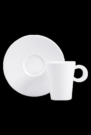 Bernardaud Naxos Espresso Cup & Saucer - Holds 3.5 oz