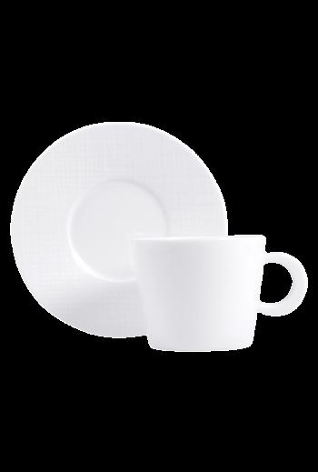 Bernardaud Organza Tea Cup & Saucer
