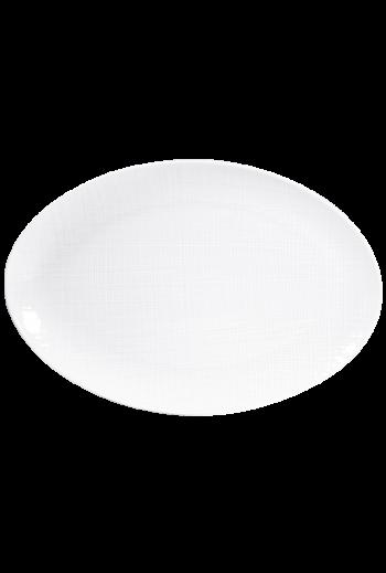 "Bernardaud Organza Oval Platter, Large - 15"""