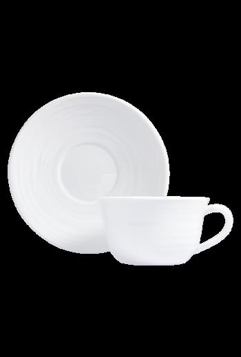 Bernardaud Origine Tea Cup & Saucer - Holds 7 oz