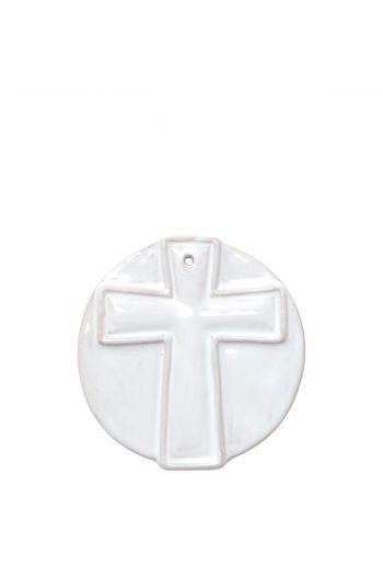 Vietri Ornaments Simple Cross Ornament