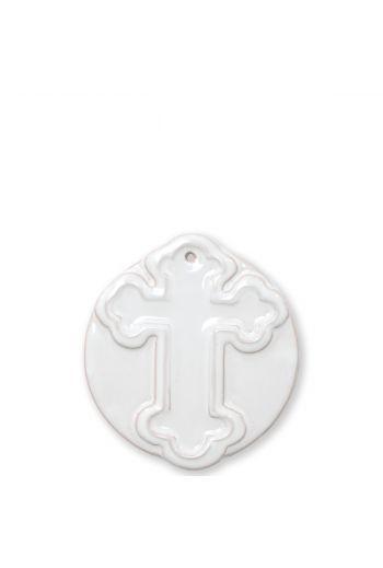 Vietri Ornaments Decorative Cross Ornament