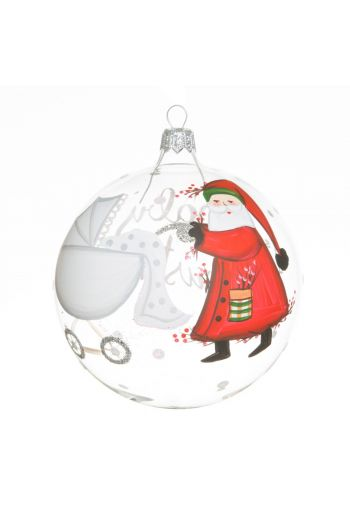 Vietri Old St. Nick Baby's First Christmas Ornament