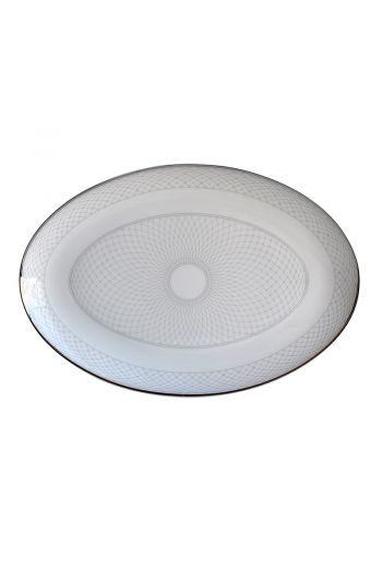 "Bernardaud Palace Oval Platter-  15"""