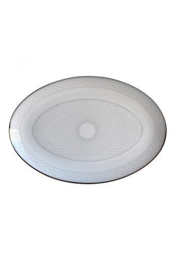 "Bernardaud Palace Oval Platter-  13"""