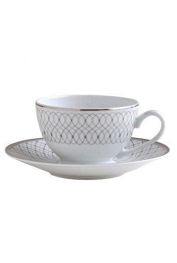 Bernardaud Palace Espresso Cup and Saucer