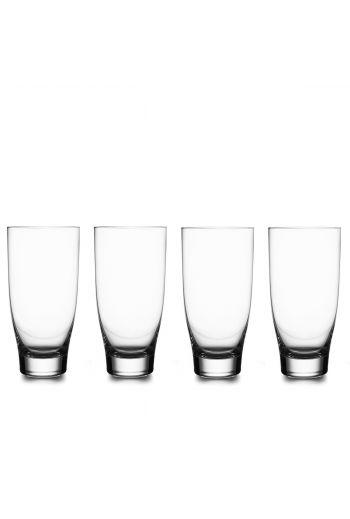 Vie Highball Glasses, Set of 4