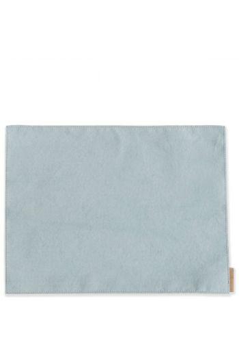 Vietri Washable Paper Placemats Aqua Placemats - Set of 4