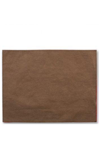 Vietri Washable Paper Placemats Brown Placemats - Set of 4