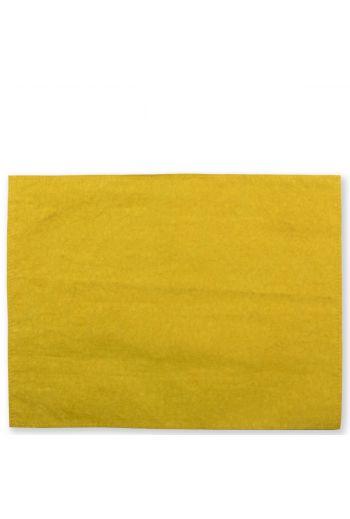 Vietri Washable Paper Placemats Chartreuse Placemats - Set of 4