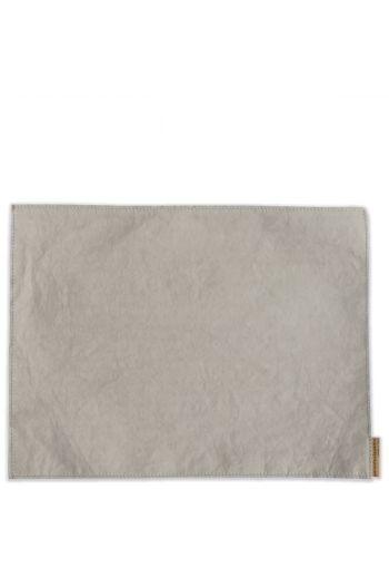 Vietri Washable Paper Placemats Gray Placemats - Set of 4