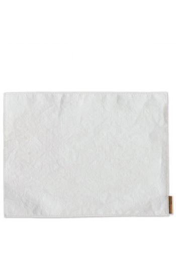 Vietri Washable Paper Placemats White Placemats - Set of 4