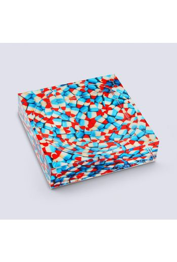 """by robynblair Corn In The USA Candy Dish  - 6""""x 6""""x 1.5"""""""