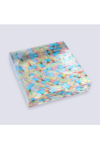 """by robynblair Sour Flower Candy Dish - 6""""x 6""""x 1.5"""""""