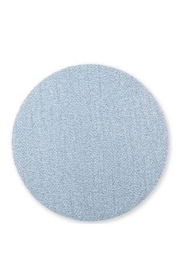 Vietri Reversible Placemats Blue/Gray Round Placemat