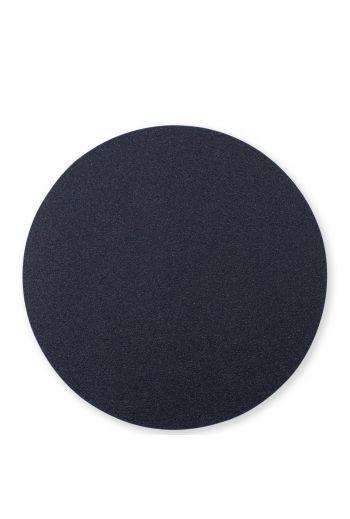 Vietri Reversible Placemats Black/Gray Round Placemat
