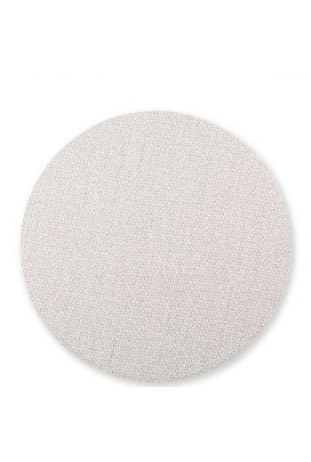 Vietri Reversible Placemats Light Gray/Brown Round Placemat