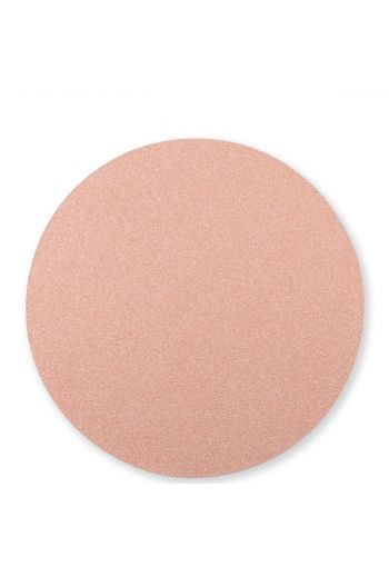 Vietri Reversible Placemats Rose Gold/Sand Round Placemat