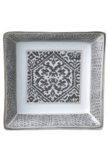 "Bernardaud Sauvage Small Square Dish - 3"" x 3"""