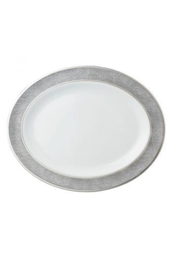 """Bernardaud Sauvage Oval Platter -13"""""""