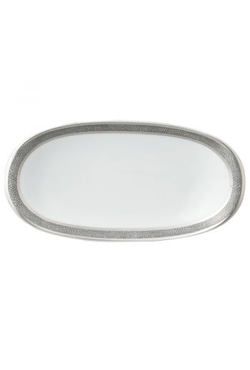 """Bernardaud Sauvage Relish Dish - 9"""" x 5"""""""