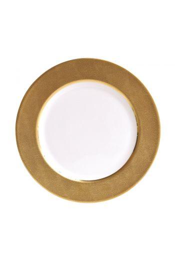 """Bernardaud Sauvage Or Service Plate - 12"""""""