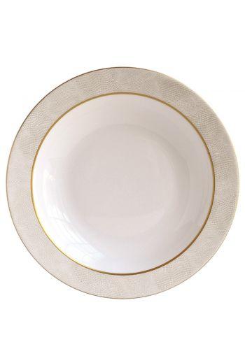 """Bernardaud Sauvage Or Deep Round Dish - 11.5"""""""