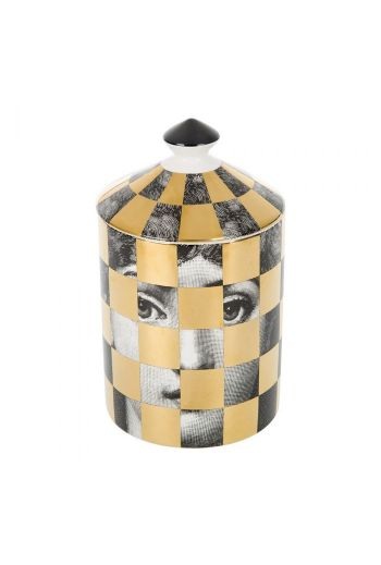 Fornasetti Scacco Scented Candle - 300g
