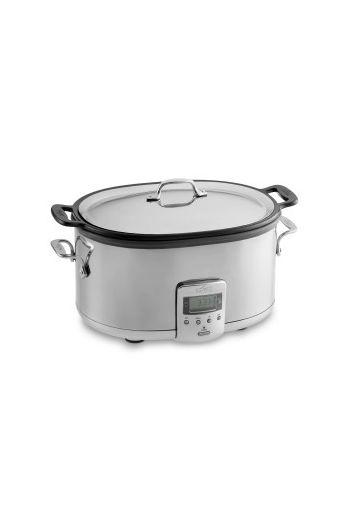 7 QT. Deluxe Slow Cooker w/ Cast-Aluminum Insert