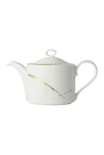 Royal Crown Derby Sketch - Chalk Large Tea Pot