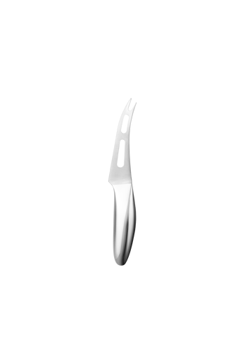 Georg Jensen Sky Cheeseknife Mirror Polished Stainless Steel - H: 1.3 inches. L: 8.74 inches. D: 1.14 inches.