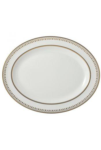 "Bernardaud Soleil Levant Oval Platter, Medium - 15"""