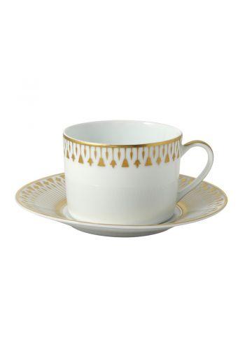 Bernardaud Soleil Levant Tea Saucer