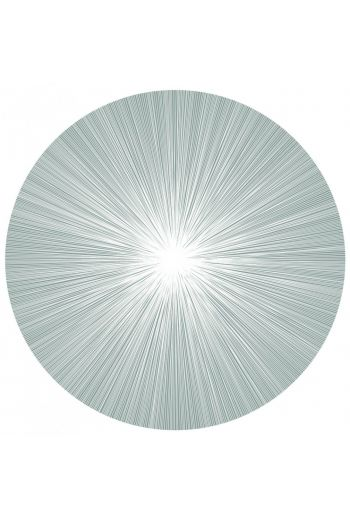 "TISCH NEW YORK Shadow Lines Placemats, 15"" Diameter - Available in 4 Colors"