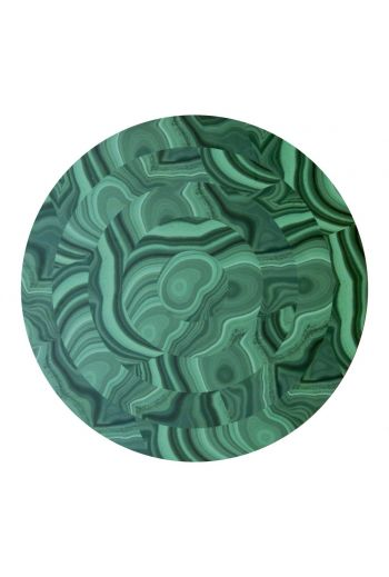"TISCH NEW YORK Malachite Placemats, 15"" Diameter - Available in Green"