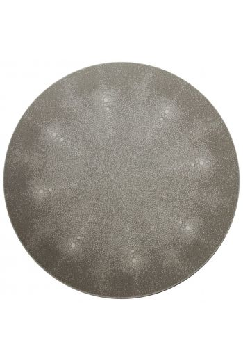 "TISCH NEW YORK Shagreen Placemats, 15"" Diameter - Available in 7 Colors"