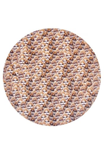 "TISCH NEW YORK Feathers Placemats, 15"" Diameter - Available in 2 Colors"