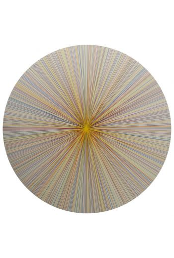"TISCH NEW YORK Lines Placemats, 15"" Diameter - Available in 4 Colors"